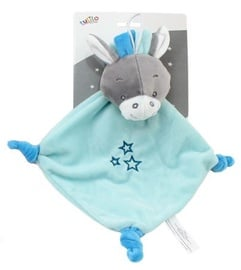 Axiom Cuddly Toy With Rattle Milus Donkey Mint 19x19cm