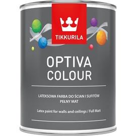 Vandeniniai akriliniai dažai Tikkurila Optiva colour, C bazė, visiškai matiniai, 0,9 l