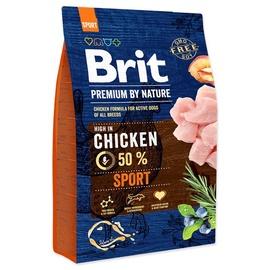 Sausas ėdalas šunims Brit Premium Sport, su vištiena, 3 kg