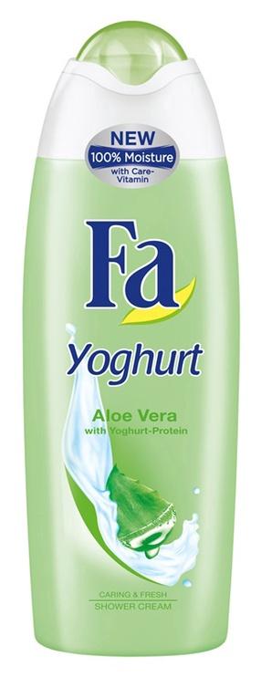 Dušo želė Fa Yoghurt fresh & Aloe vera, 0.25 l