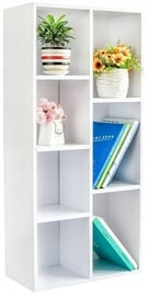 GoodHome Bookcase White WYJ-071