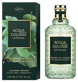4711 Acqua Colonia Intense Wakening Woods Of Scandinavia 170ml EDC Unisex