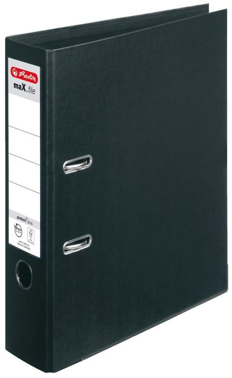 Herlitz Max File A4/8cm Black