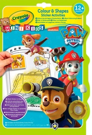 Crayola Paw Patrol Colour & Shapes Sticker Activities