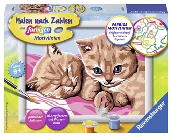Ravensburger Painting By Numbers Cuddly Friends 280124