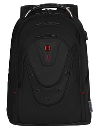 Wenger Ibex Ballistic Deluxe 14-16 Backpack Black