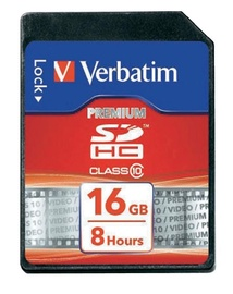 Verbatim 16GB SDHC Class 10