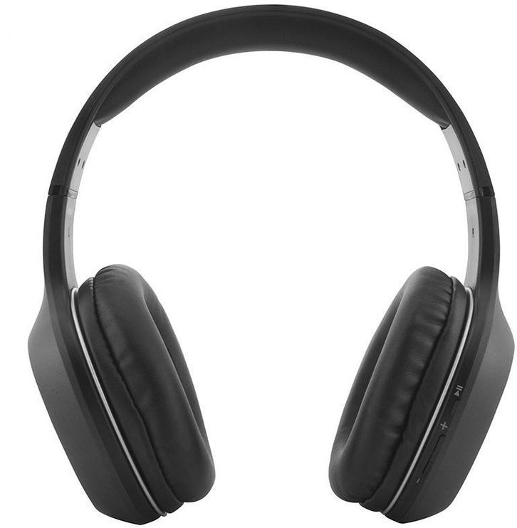 Ausinės Media-Tech Indus MT3590 Black, belaidės
