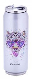 Kamille KM 2214 Thermo Can 500ml Leopard