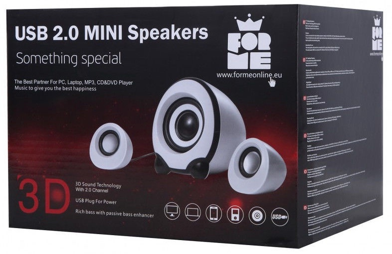 Forme FS-101 2.1 Speakers
