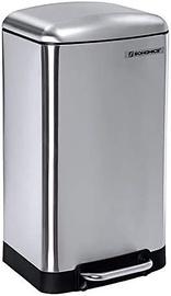 Šiukšliadėžė Songmics Garbage 73239900, sidabro, 30 l