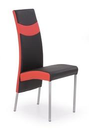 Svetainės kėdė K51, juoda/raudona