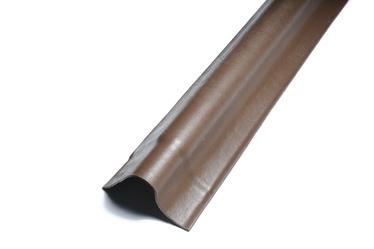 Vėjalentė Eternit, ruda, kairinė, 162 x 24 x 20 cm