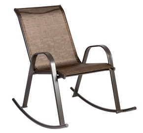Home4you Dublin Rocking Chair Golden Brown