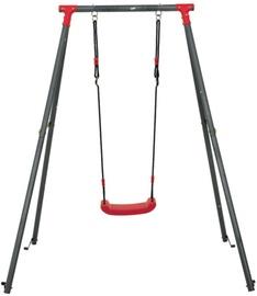 Šūpoles 4IQ Metal Playground Ant, sarkana