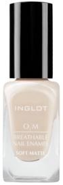 Inglot O2M Breathable Nail Enamel Soft Matte 11ml 501