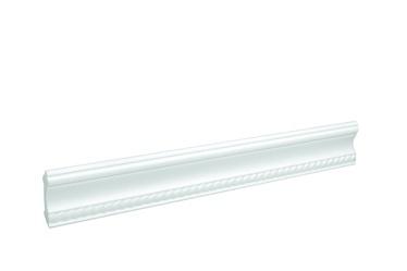 Apdailos juostelės 207501, balta, 200 x 8 cm