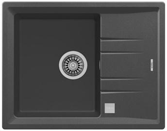 Teka Stone 45S TG Washbasin Dark Gray