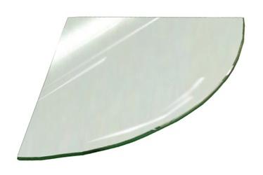 Kampinė lentynėlė Stiklita l6s14/20, 20 x 20 x 0,6 cm
