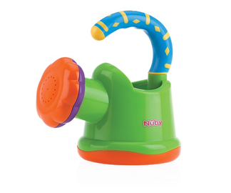 Laste kastekann Nuby Watering Can, sinine/roheline/oranž/violetne