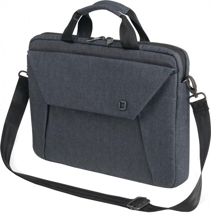 """Dicota Notebook Slim Case Edge 12-13.3"""" Blue Denim"""