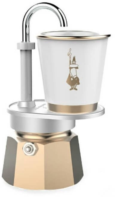 Bialetti Mini Express 2 Cups Gold