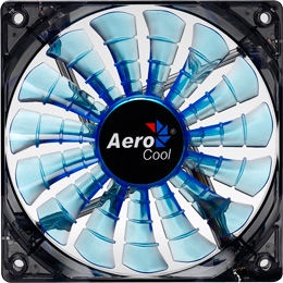 AeroCool Shark Blue Edition PC Fan 120mm AEROSF-12BLUE