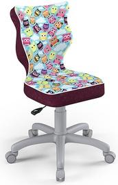 Entelo Childrens Chair Petit Size 4 Purple/Owls ST32
