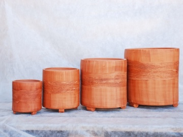 Keramikinis vazonas Kadagys, Ø23 cm