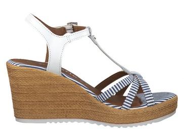 Tamaris Sandal 1-1-28380-22 White Blue 38
