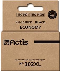 Кассета для принтера Actis Cartridge KH-302BKR For HP 21ml Black