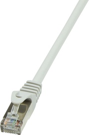 LogiLink Patch Cable Cat.6 F/UTP EconLine 1m Grey