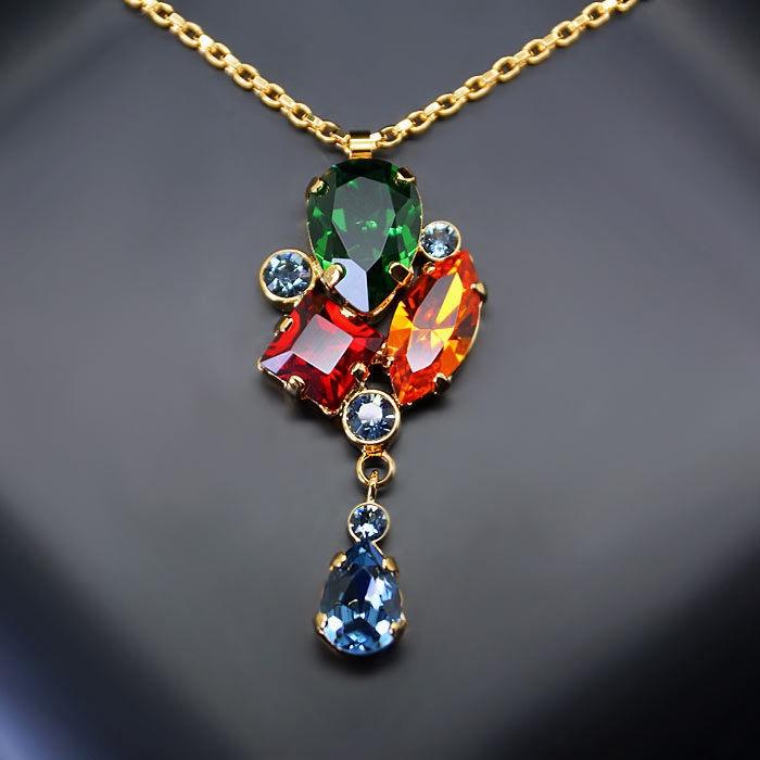 Diamond Sky Pendant Fillori With Swarovski Crystals