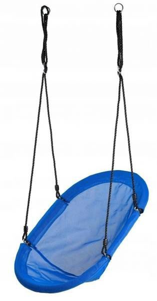 EcoToys Garden Swing Boat Blue