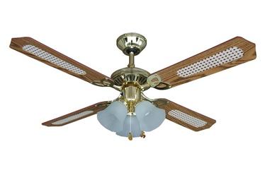 Lampa ventilators NS42-PB-R4C3BEA 3x60W E14 122x39cm
