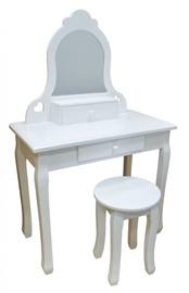 4IQ Bella Classic Dressing Table White
