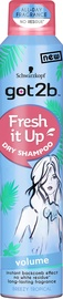 Sausas šampūnas Schwarzkopf Got2b Fresh It Up Volume, 200 ml