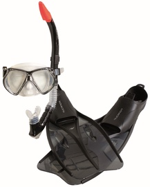 Rucanor Insula Snorkel Set 35/37 Black