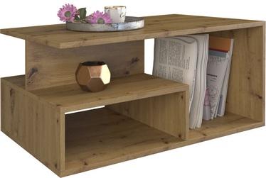 Kafijas galdiņš Top E Shop Prima Artisan, ozola, 900x510x430 mm