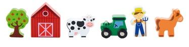 Фигурка-игрушка Viga Train Set Accessory Farm 50812