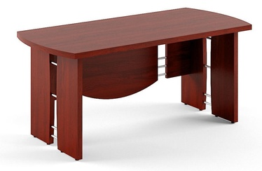 Skyland Born V 102 Executive Desk 170x80cm Burgundy