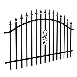 SN Panel Fence 1.2x2m Black