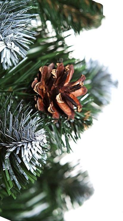 Kunstlik jõulupuu AmeliaHome Lemmy Green, 220 cm, koos alusega