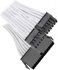 BitFenix 24-Pin ATX 30cm Extension Cable White/Black