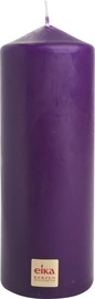 Eika Pillar Candle 16x6cm Purple