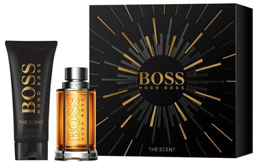 Туалетная вода Hugo Boss The Scent 50 мл EDT+100 мл Гель для душа New Design