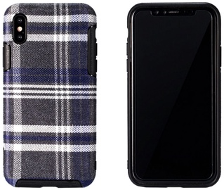 Remax Fabric Series Back Case For Apple iPhone X Blue