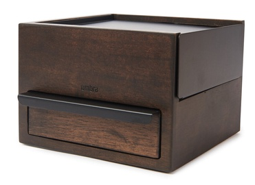 Umbra Stowit Jewelry Box Black/Wood