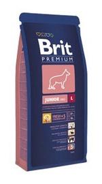 Sausas ėdalas šuniukams Brit Premium Junior L, su vištiena, 3 kg