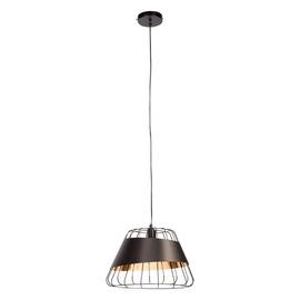 Domoletti Monica MD52615-1L Ceiling Lamp 40W E27 Black/Gold